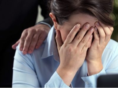 Are you being sexually harassed at work?